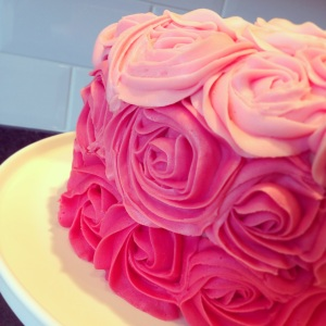 Rose Ombre Buttercream