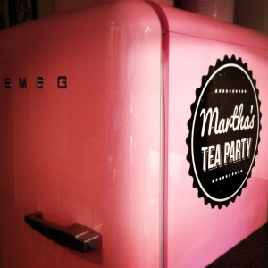 Pink Fridge Sign