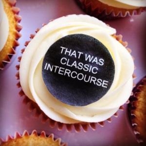Alan Partridge Cupcake