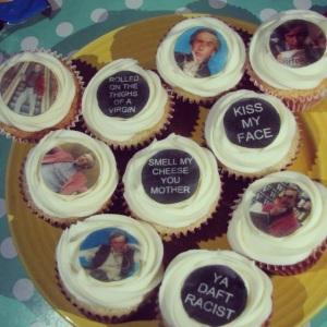 Alan Partridge Cupcakes