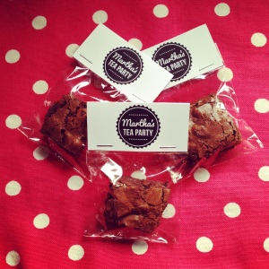 Promotional Brownies