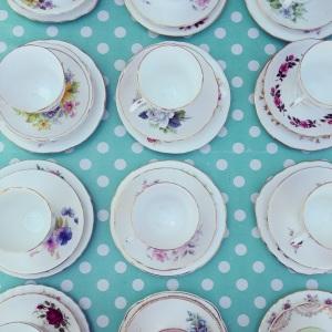 Vintage Tea Cup Trios
