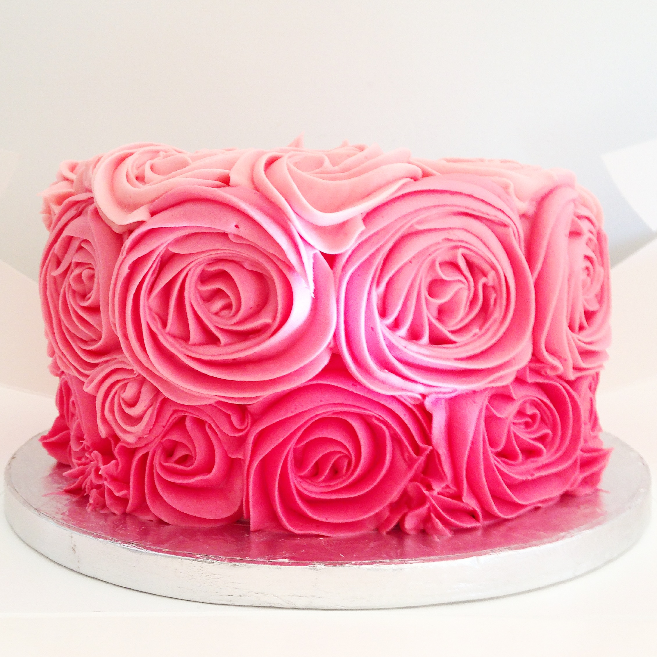 Ombre Cake Marthas Tea Party
